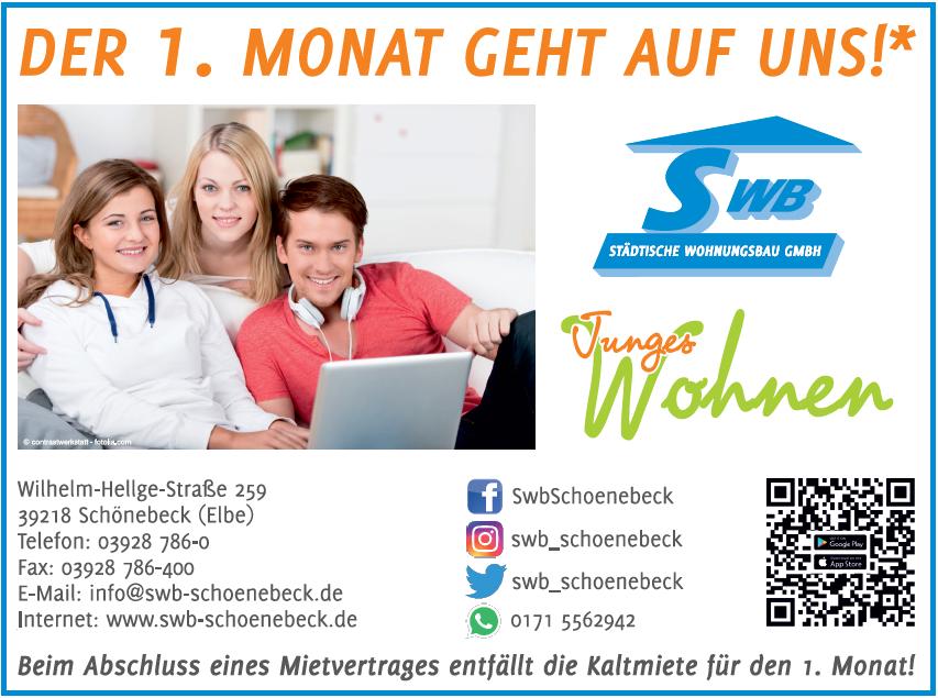Angebot SWB Städtische Wohnungsbau GmbH 1. Monat Mietfrei