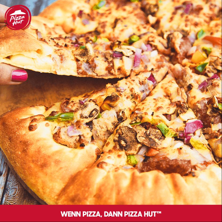 PizzaHut - knusprige Pizza