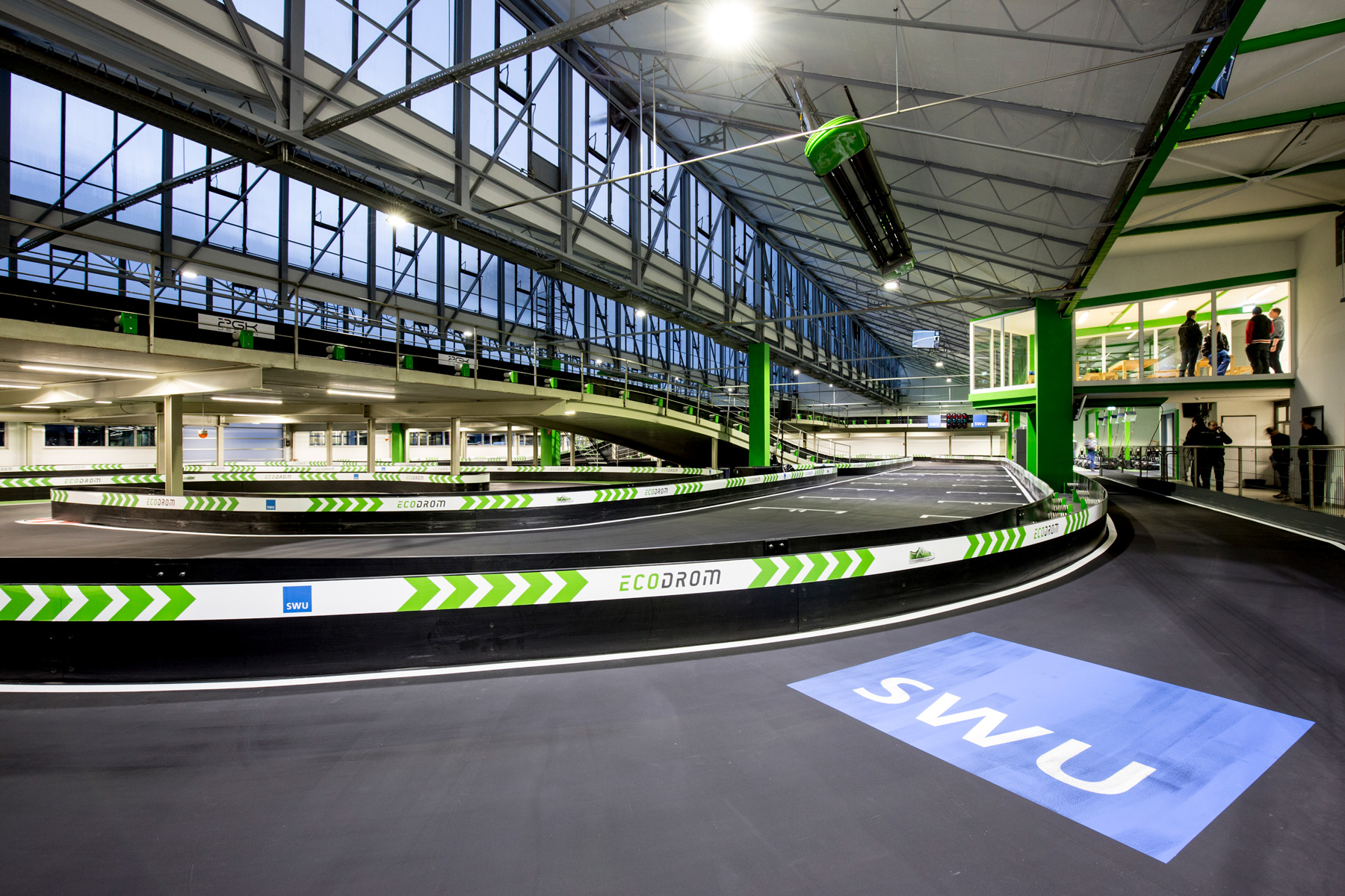 Ecodrom - Kartbahn