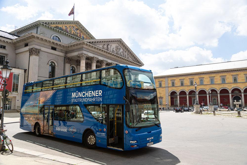 Münchener Stadtrundfahrt