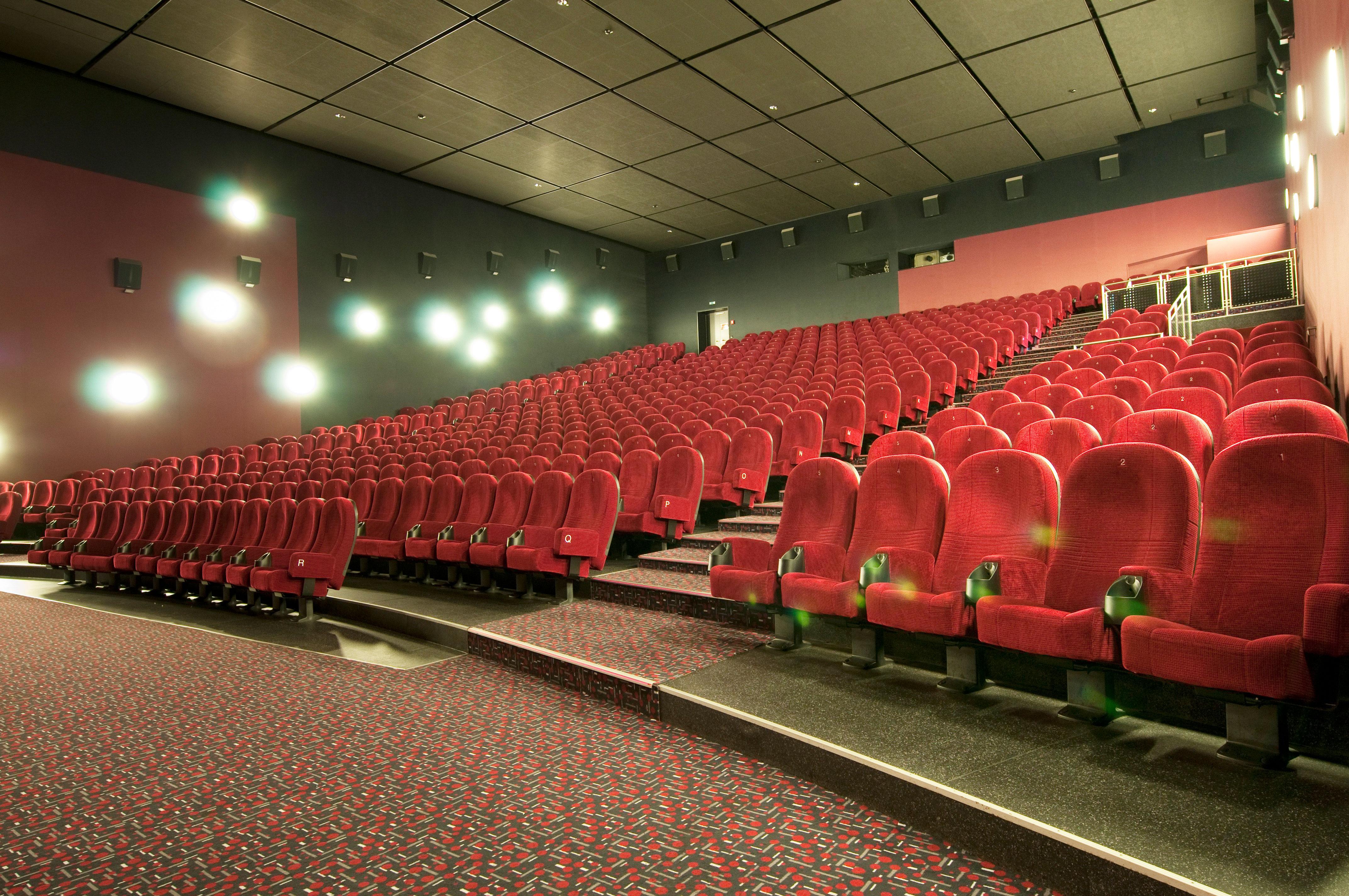 Bild eines großen Kinosaals