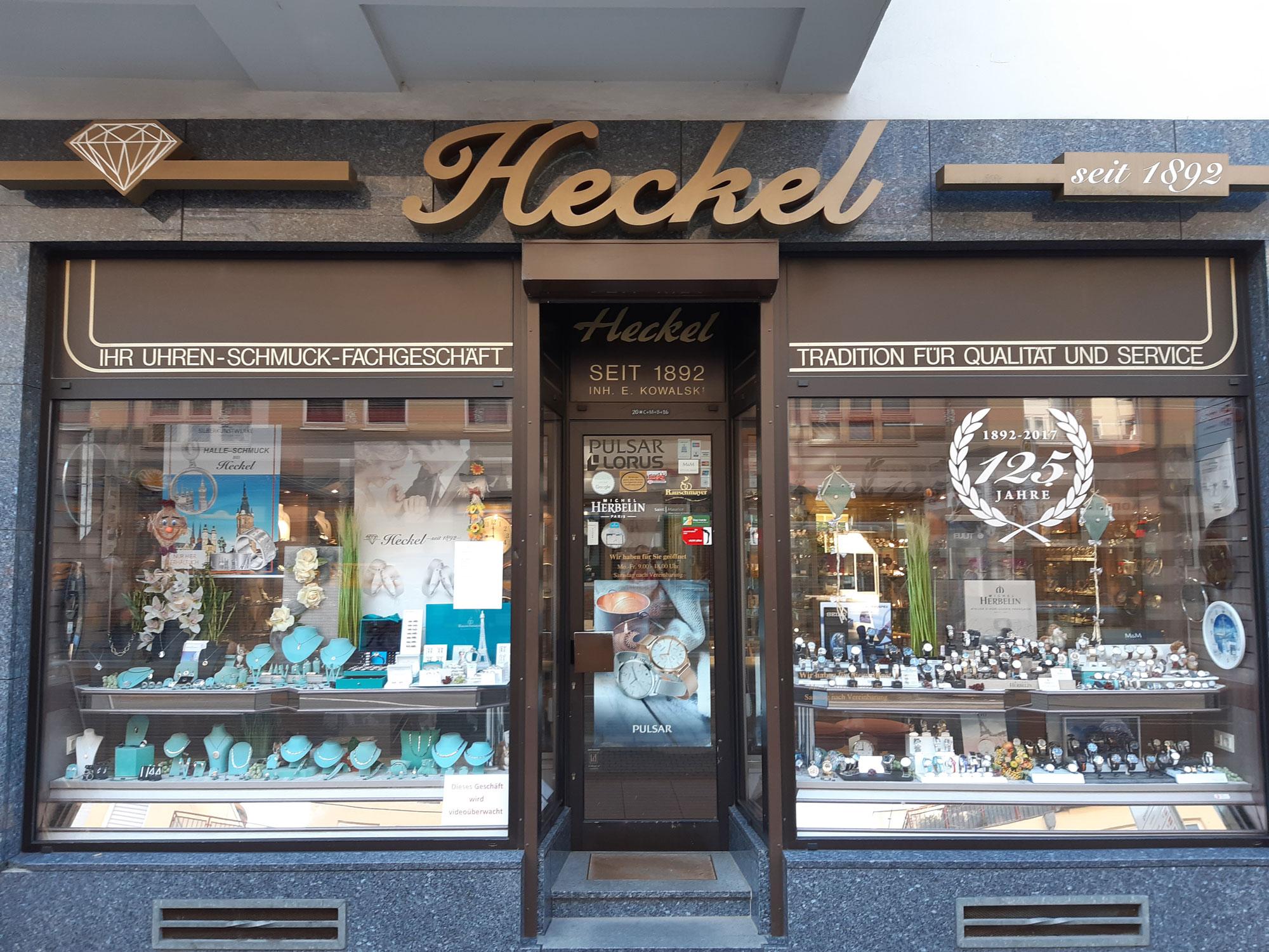 Juwelier Heckel - Azubicard Halle Dessau