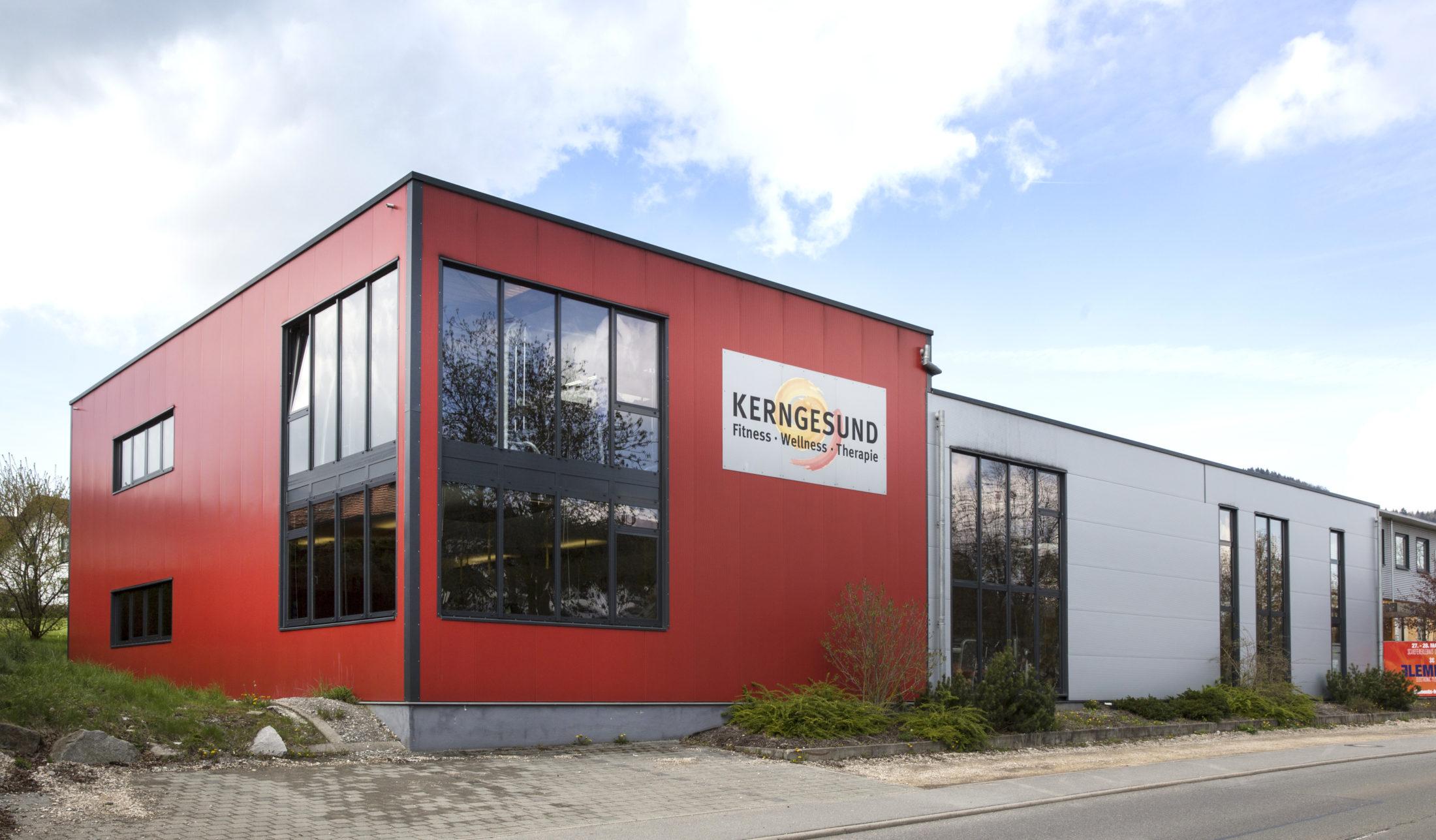Das Firmengebäude von Kerngesund