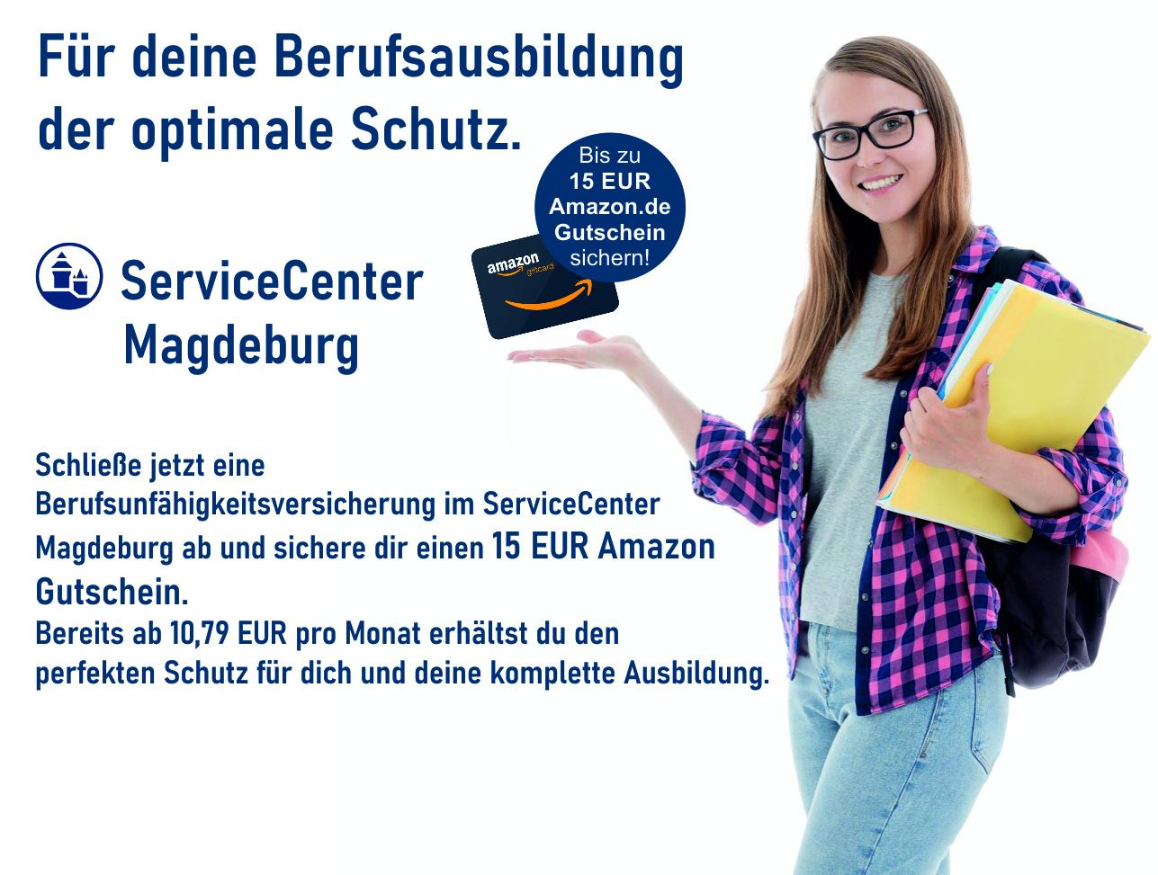Angebot Nürnberger Versicherung, Berufsunfähigkeit ab 10,79€ mit amazon 15,-€ Gutschein