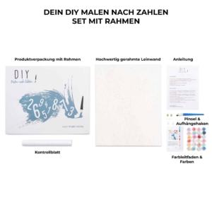 DIY - Malen nach Zahlen - Azubicard Hamburg