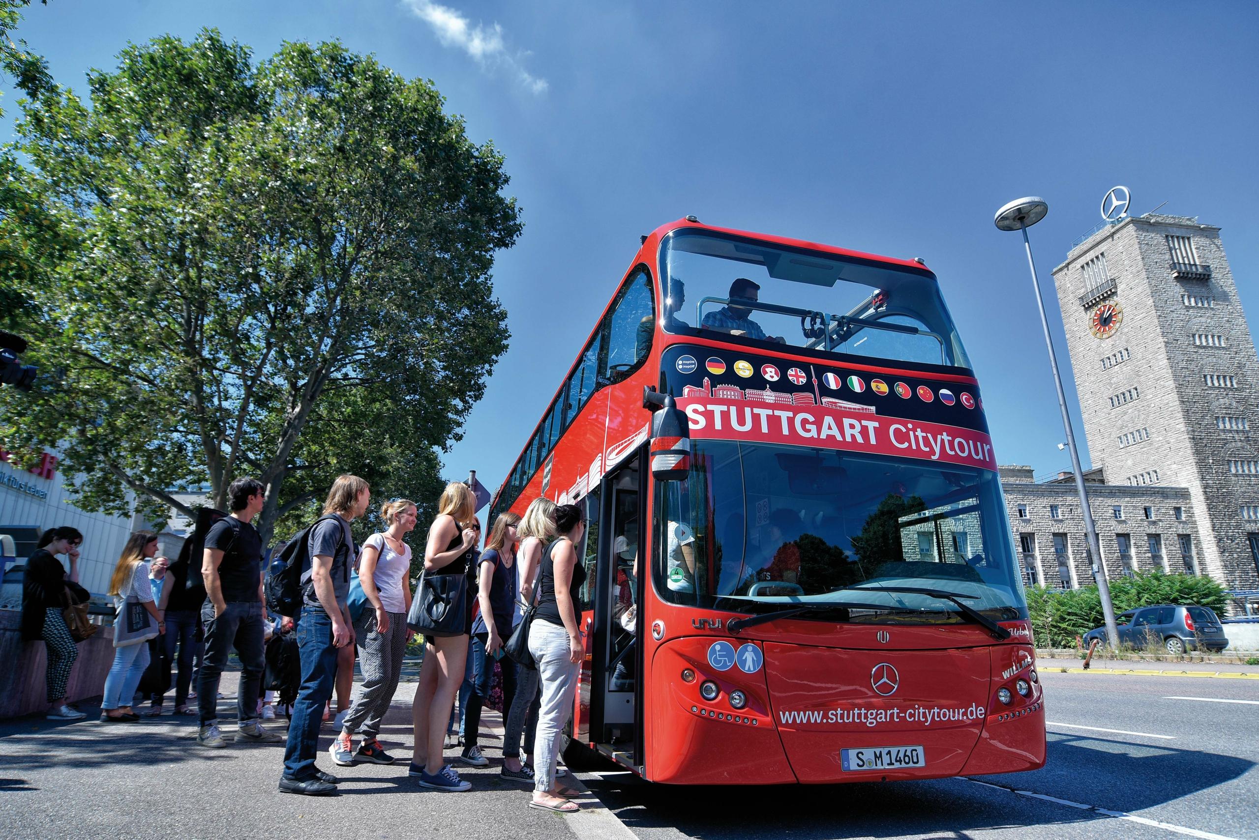Citytour Bus rot